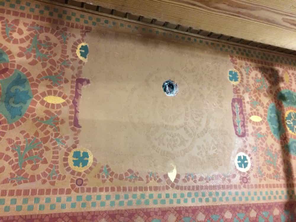 Mosaic Restoration 4
