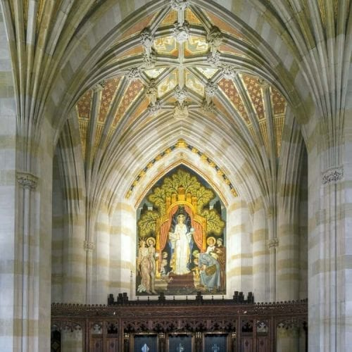 Sterling Memorial Library Yale University Mural