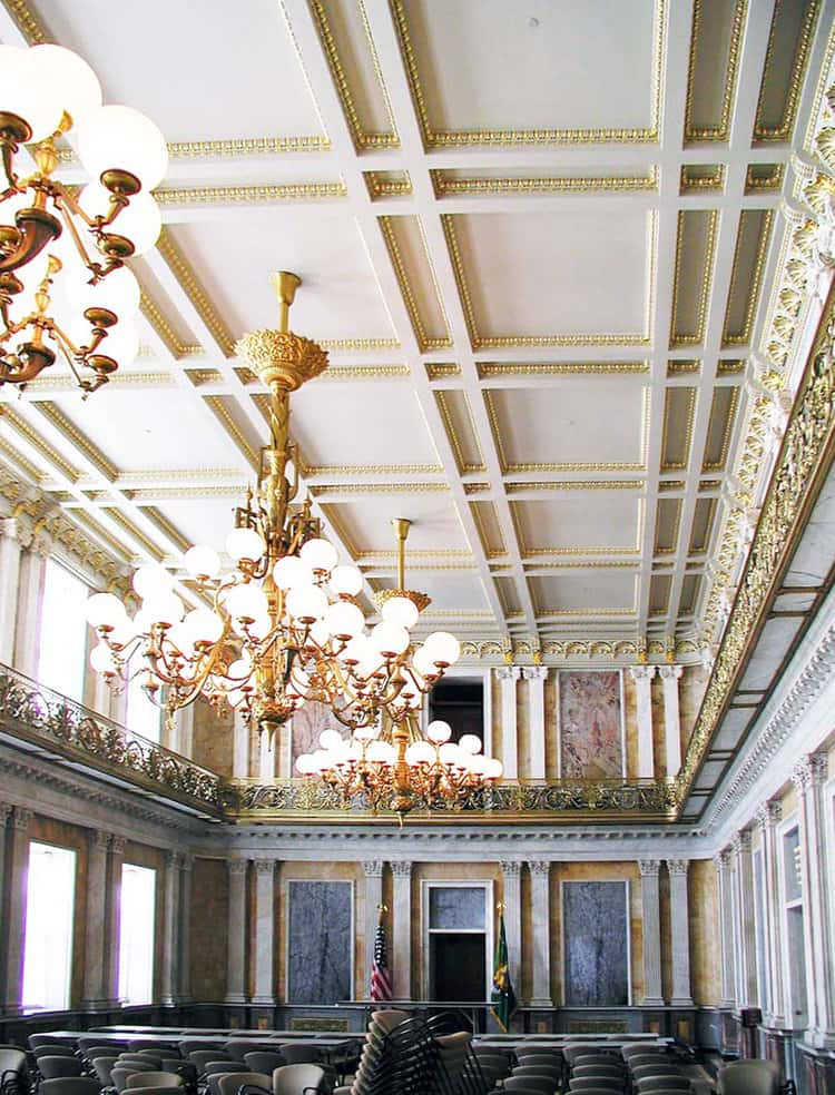 US Treasury Building Interior Restoration
