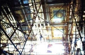 Connecticut Capitol Original Decoration Ceiling Mural
