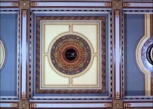Connecticut Capitol Restoration Ceiling Mural