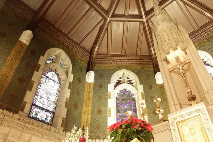 Boston College - St Mary's Hall Restoration 1