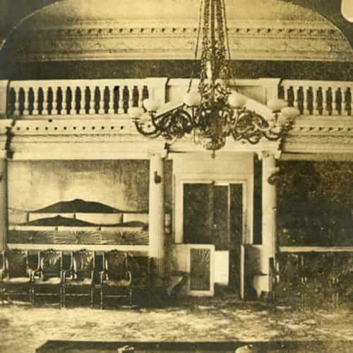 Maryland Old Senate Chamber Historic Interior Photo 2