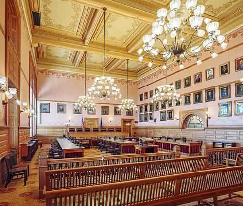 Kansas Statehouse Restoration - Interior