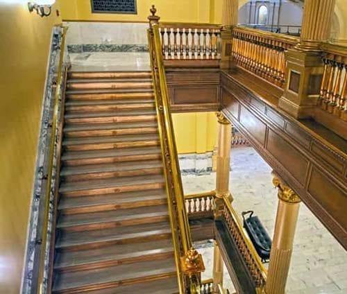 Kansas-Statehouse-Restoration---Stairwell-2