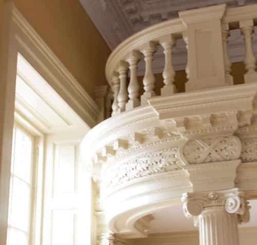 Maryland Old Senate Chamber Restoration Detail