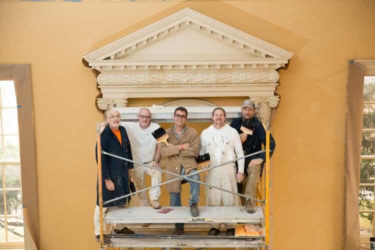 Maryland Old Senate Chamber Restoration - Balcony