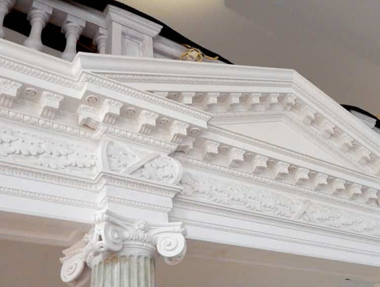 Maryland Old Senate Chamber Restoration - Pediment