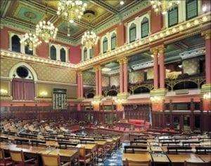 CT Capitol Building Interior