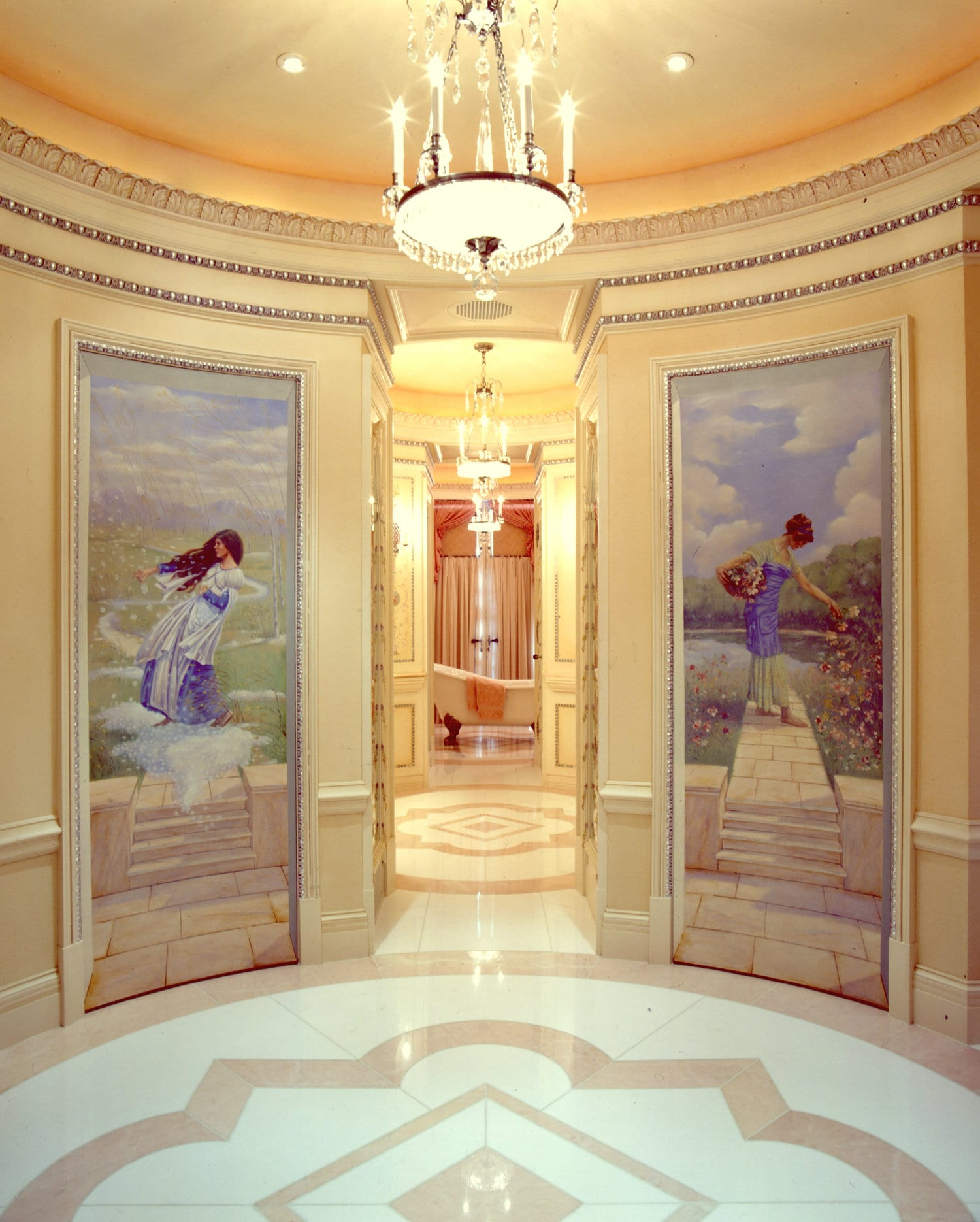 Historic Home Restoration Master Bath