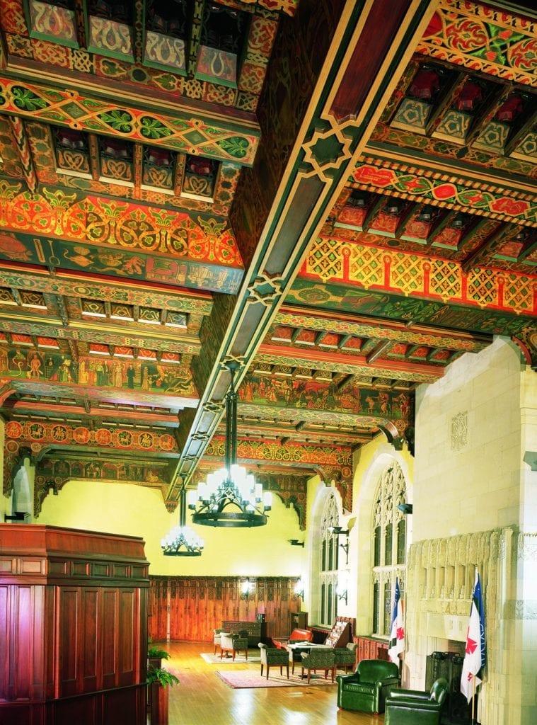 Yale Grad Center Ceiling Restoration