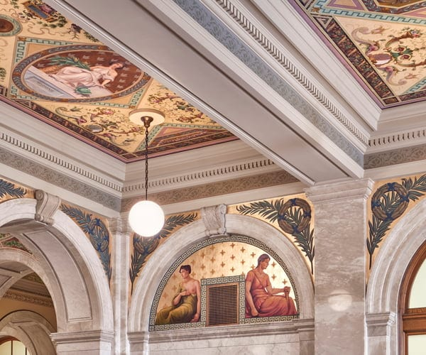 South Lobby: After Restoration