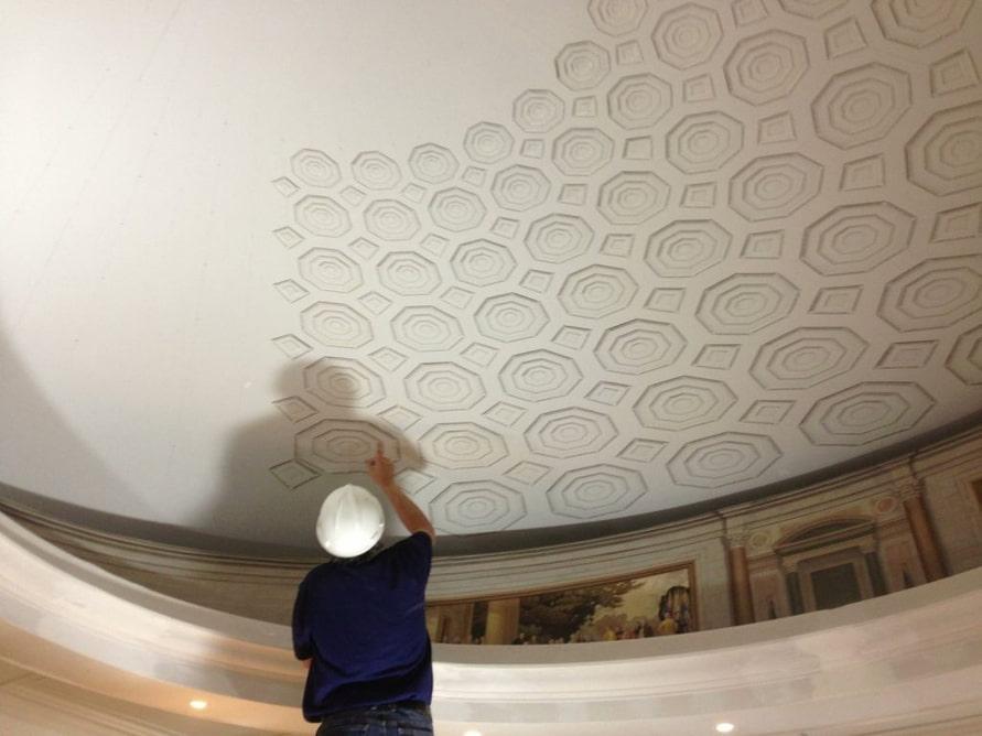 RI Capitol Building Rotunda Restoration