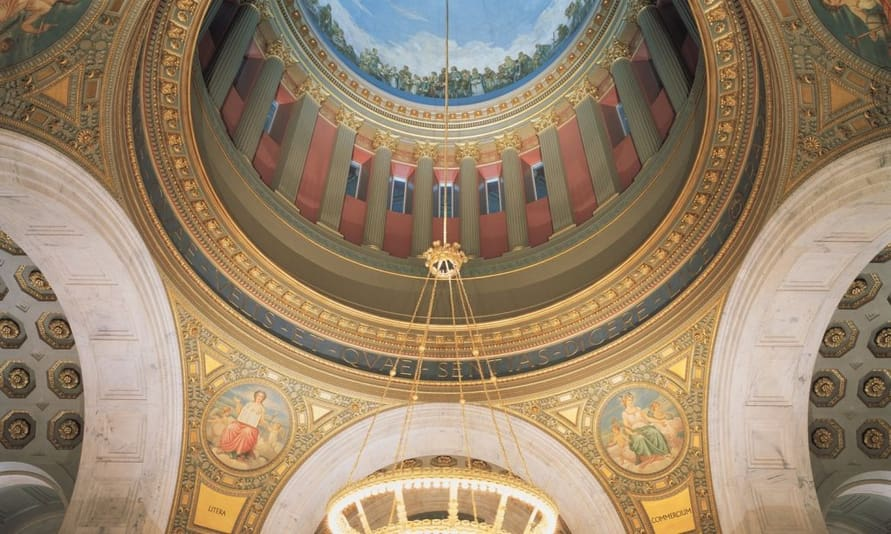 RI Capitol Rotunda Building Restoration
