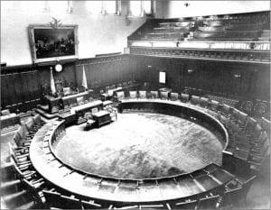 CT Capitol Building Old Senate Chamber Interior