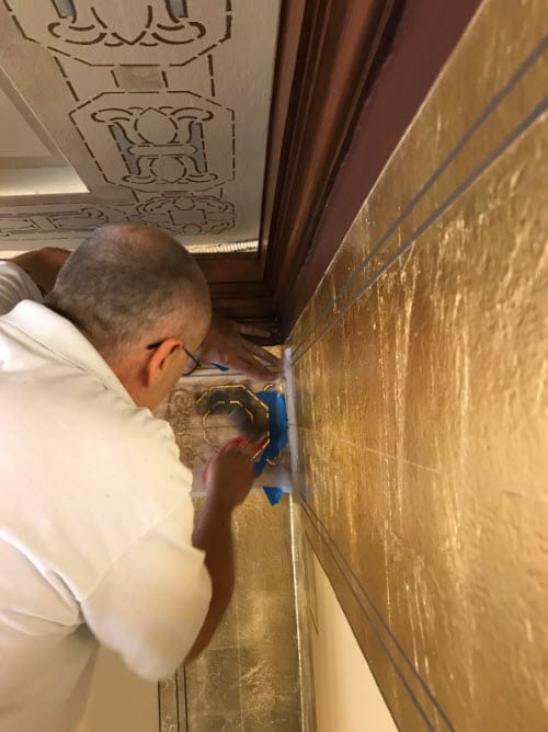 decorative painting and finishes process