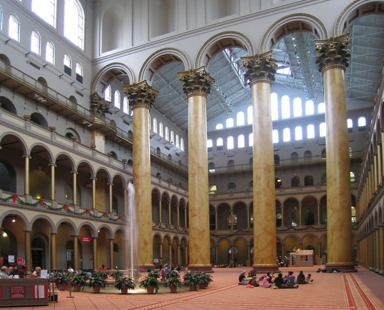 National Building Museum Pillars