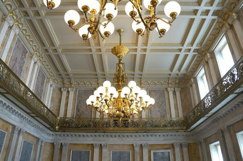 US Treasury Building Lighting