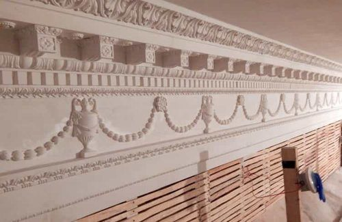 Maryland Old Senate Chamber - Cornice Entablature