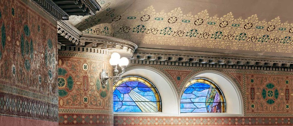 Mosaic In Boston Landmark