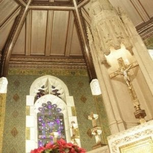 John Canning St Marys Chapel Boston College Restoration