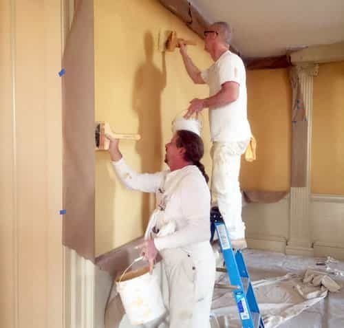 Maryland Old Senate Chamber Restoration Distemper