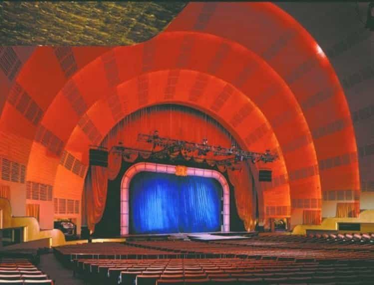 Radio City Hall Stage Restoration