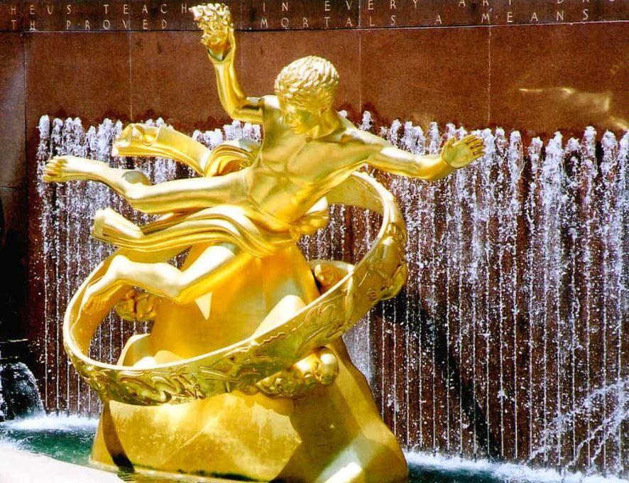 Rockefeller Center Gilding Feature