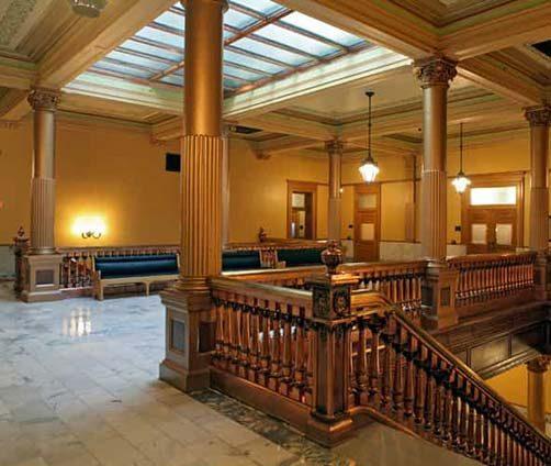 Kansas-Statehouse-Restoration---Stairwell-1