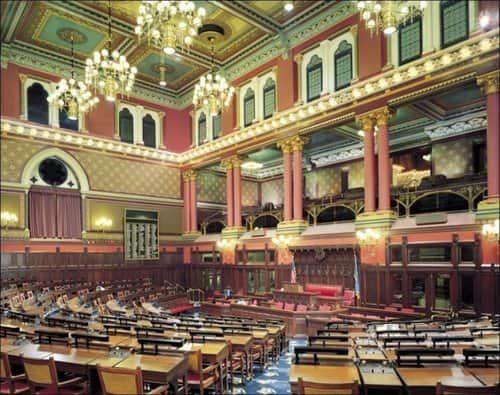 Connecticut Capitol Building Interior