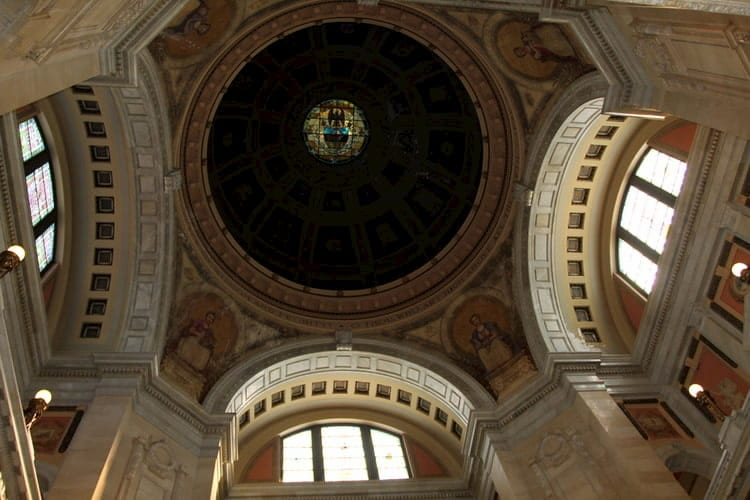 Rotunda Dome : Before Restoration