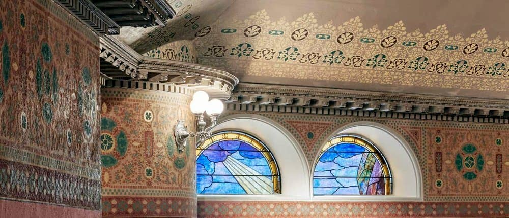 Mosaic In Boston Landmark