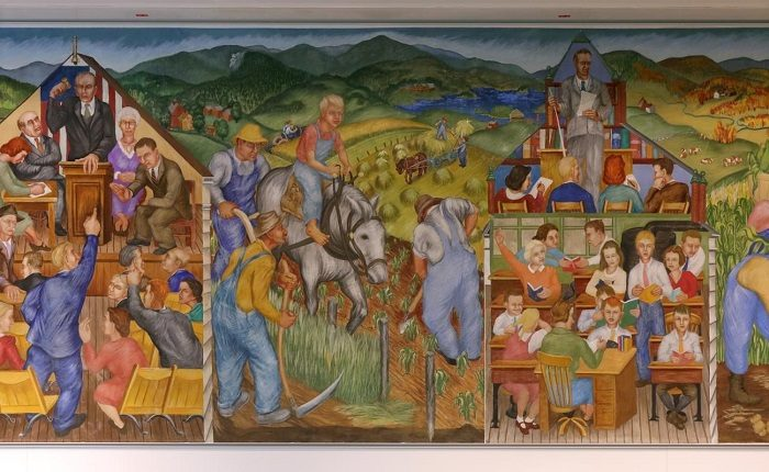 UNH Hamiton Smith Hall Murals
