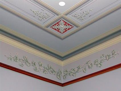 Decorative Painting Iowa State Capitol