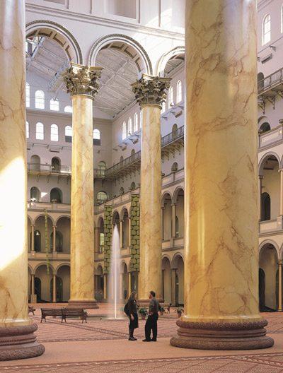 National Building Museum Pillar Close Up