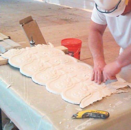 Ornamental, Flat, and Acoustic Plaster -Restoration & Replication
