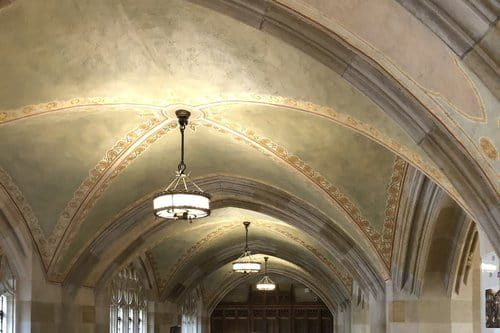 Sterling Memorial Library Ceiling