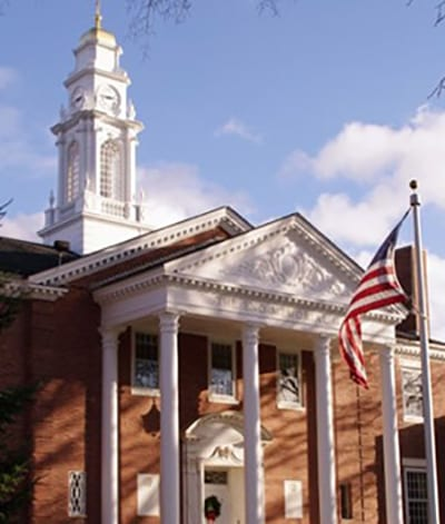 Eno Memorial Hall Exterior Featured Image