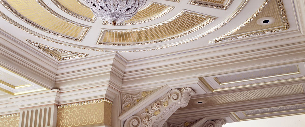 Ornamental Plaster Ceiling Designs Throughout History John Canning Co