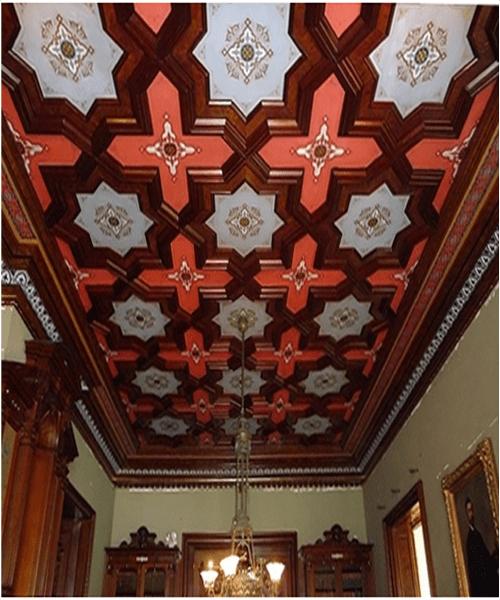 Lockwood Mansion Ceiling