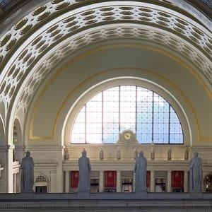 Union Station Legionnaire Statues