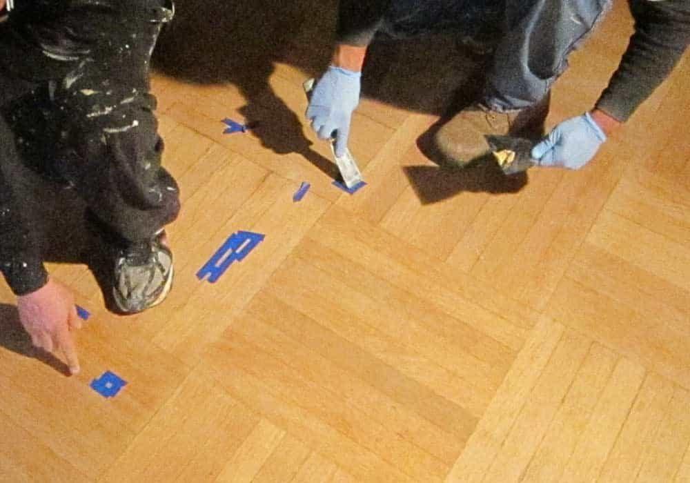 Wood Flooring Conservation Warne Ballroom Parquet Floor