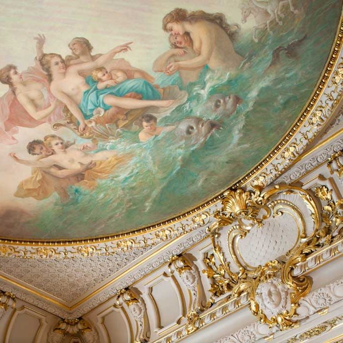 The Cosmos Club Warne Ballroom Mural Restoration