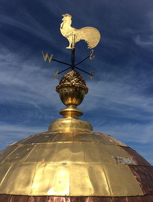 Milford City Hall Dome & Weatherwane