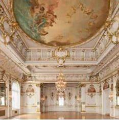 Cosmos Club Warne Ballroom Floor to Ceiling Detail