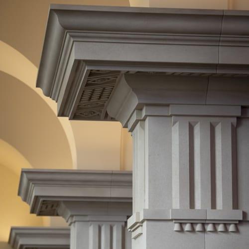 Christ Chapel Columns