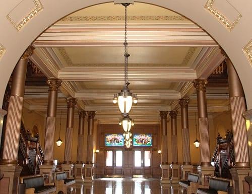 Kansas State Capitol-Lobby