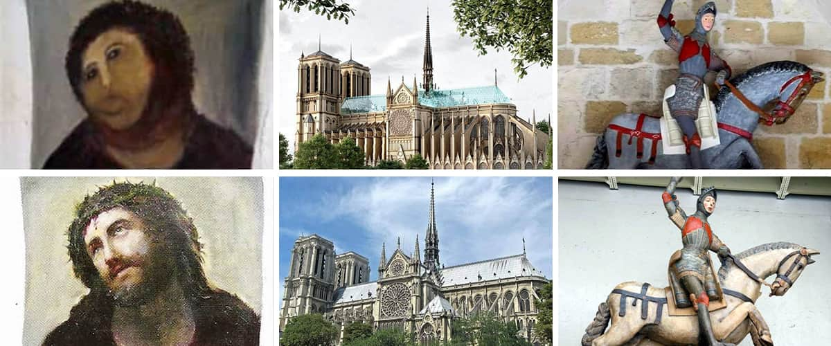 Painting Restoration Mistakes Feature Image