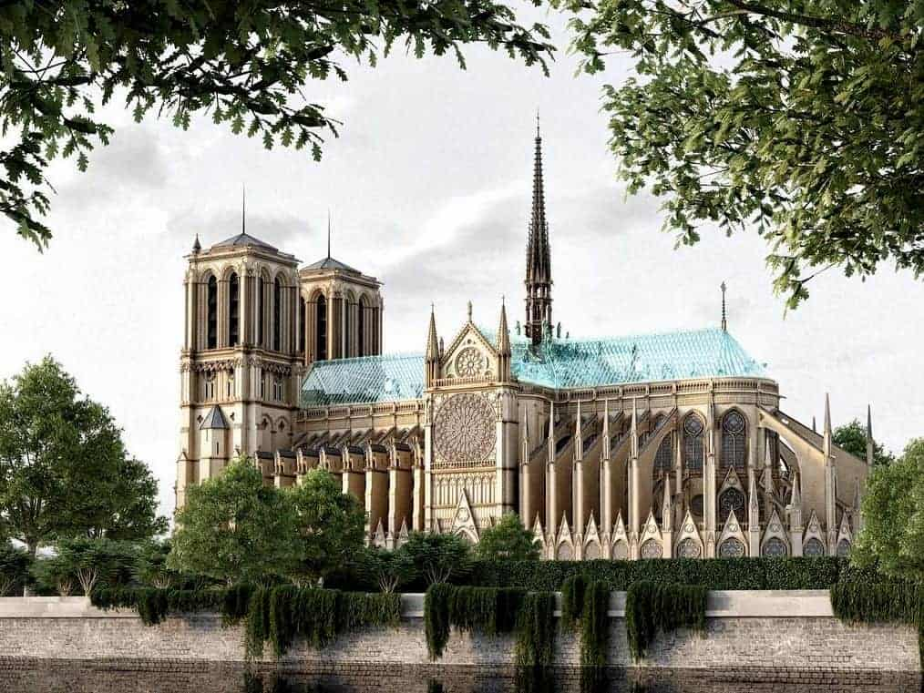 new notre dame concept art glass roof 2
