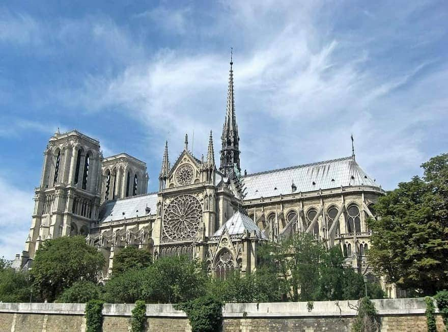 notre dame before fire